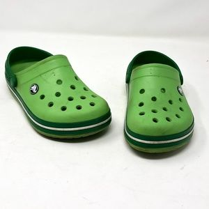 CROCS Green Youth Size 3